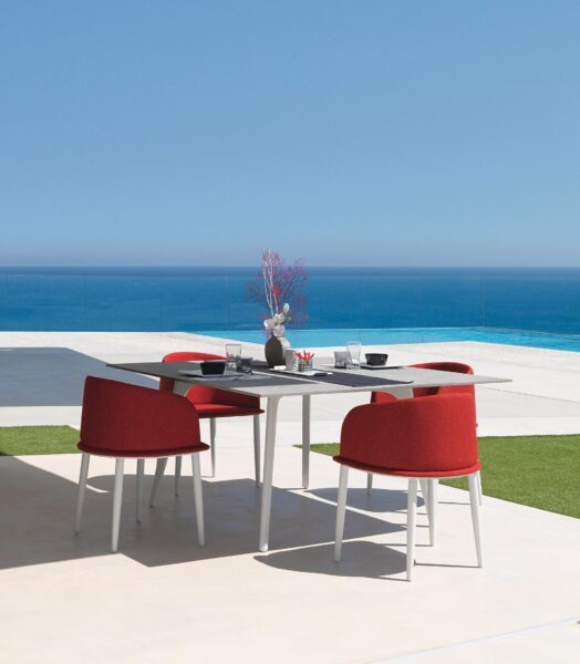 Cleo//Alu 220×100 Dining Table 3