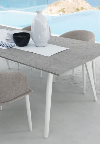 Cleo//Alu 220×100 Dining Table 0