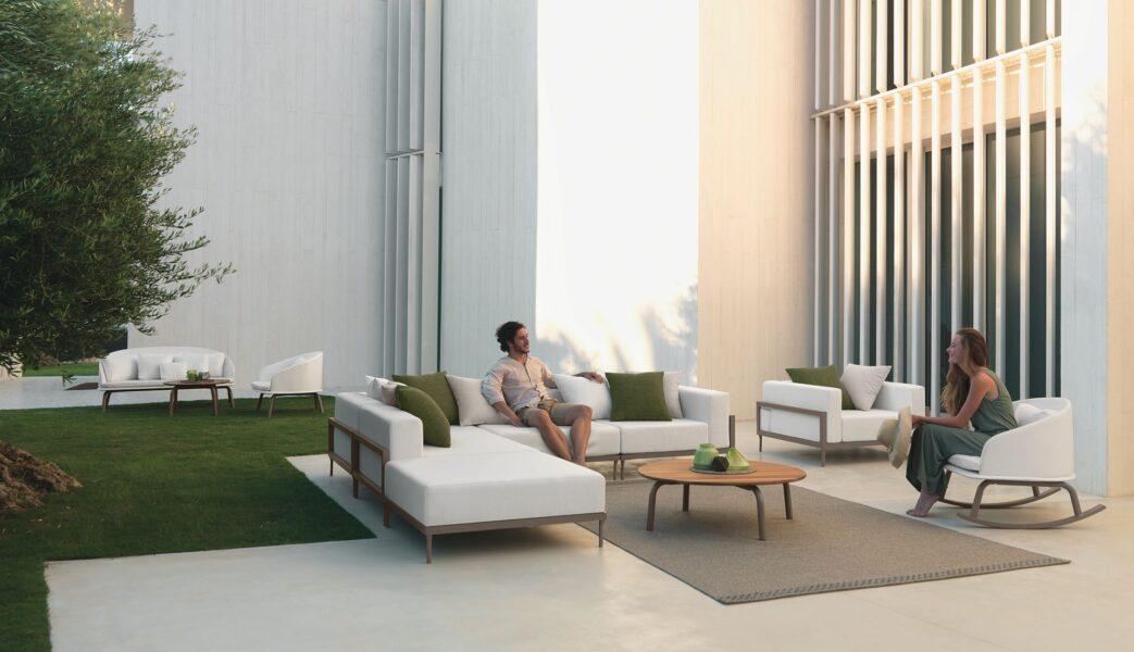 Cleo//Alu Lounge Armchair 3