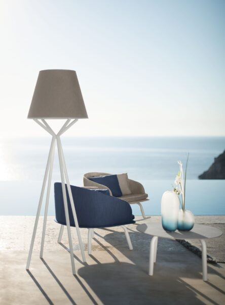 Cleo//Alu Lounge Armchair 0