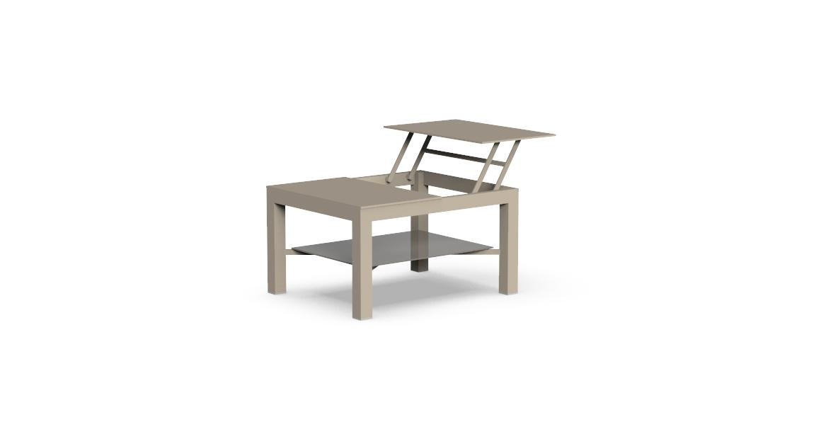 Chic Small opening Coffee Table
