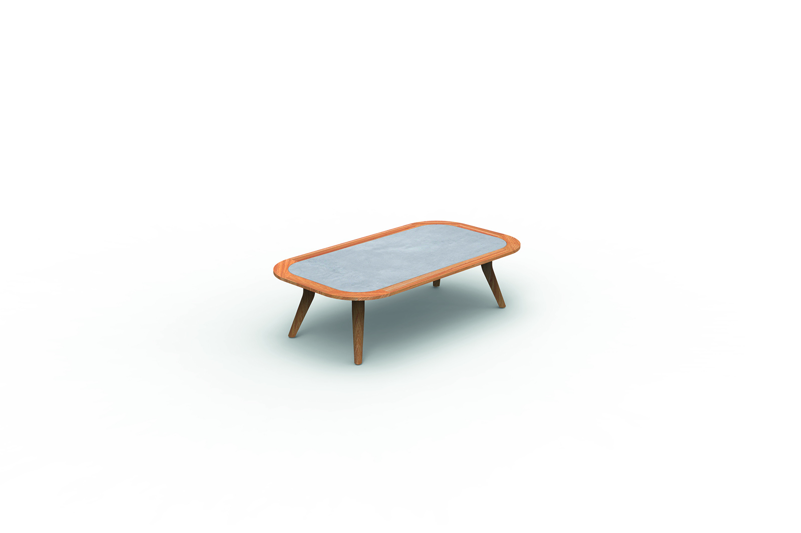 Moon//Teak Coffee Table