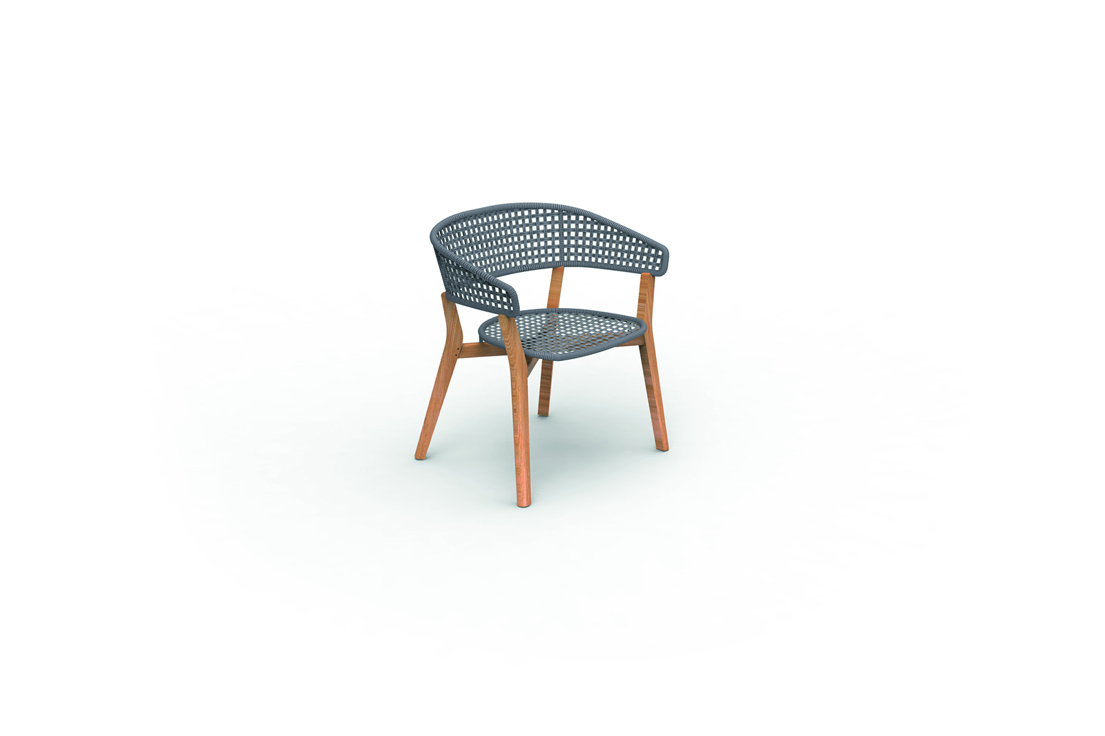 Moon//Teak Dining Chair