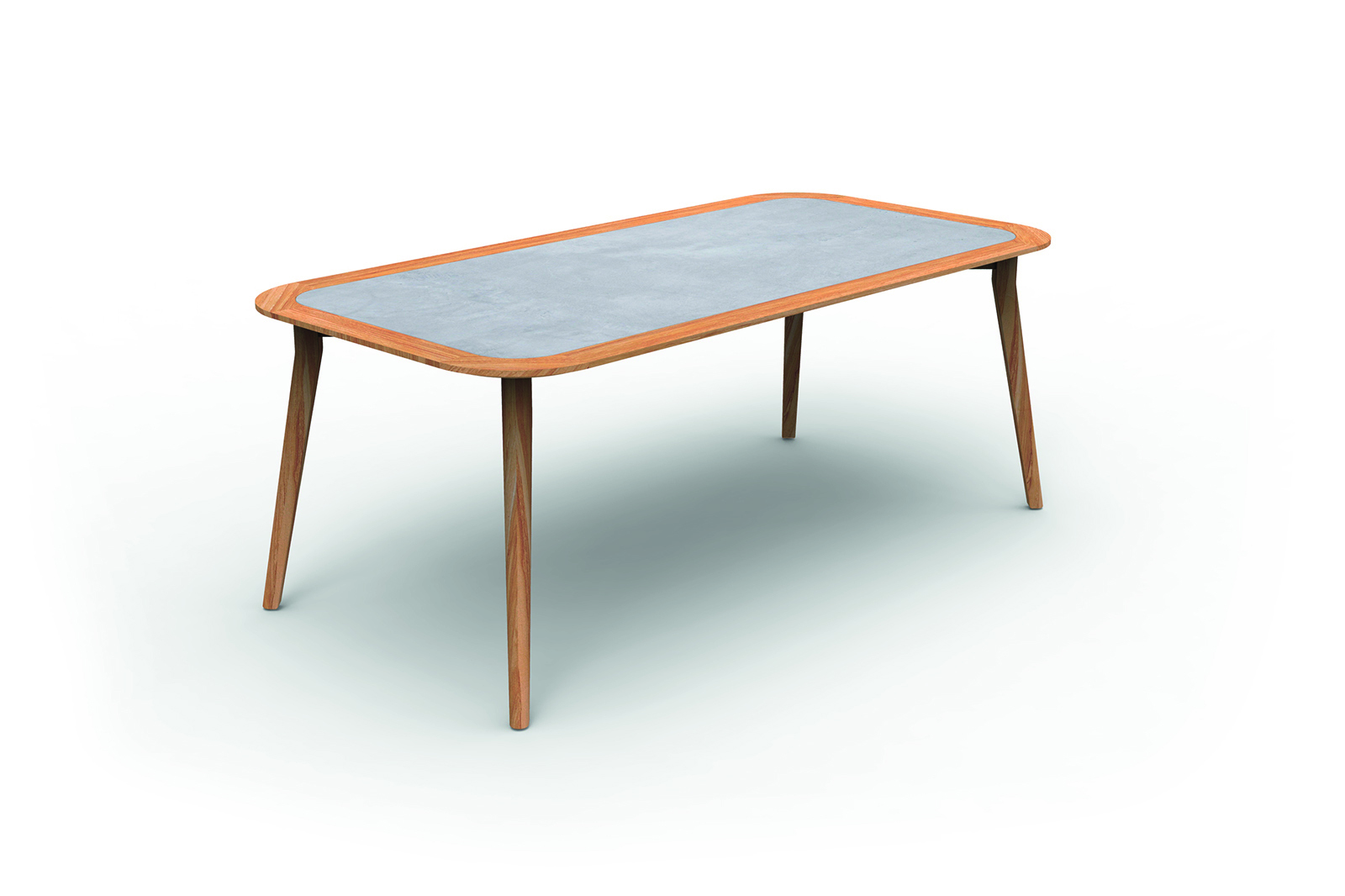 Moon//Teak 200×100 Dining Table