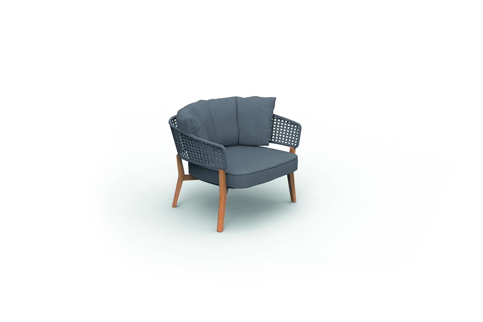 Moon//Teak Living Armchair