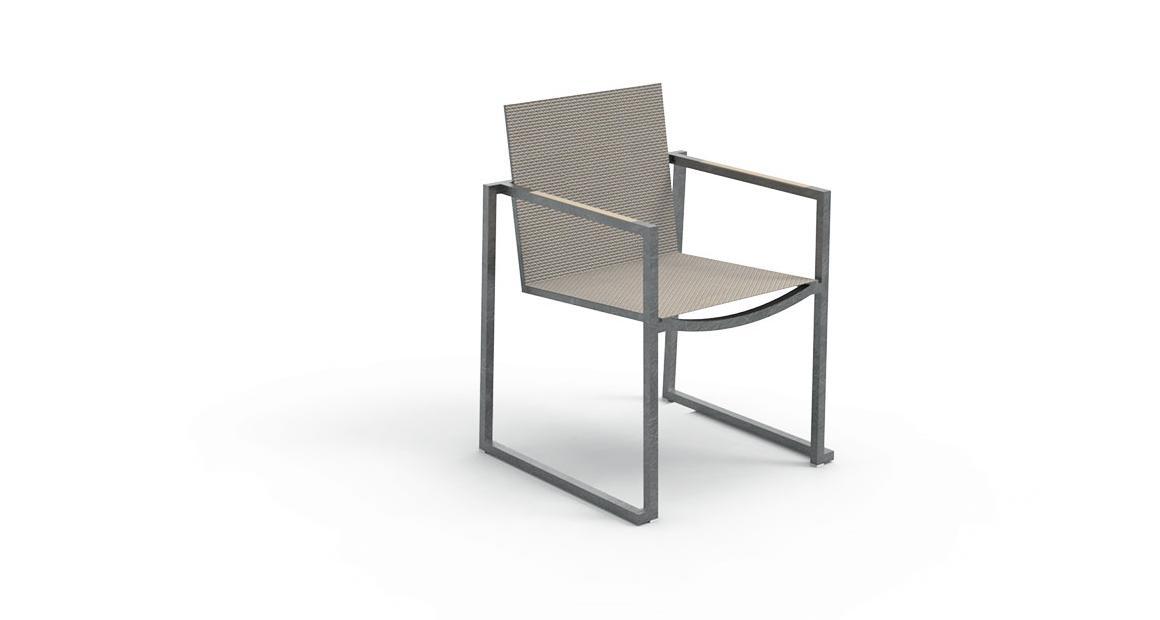 Essence Stainless steel Armchair