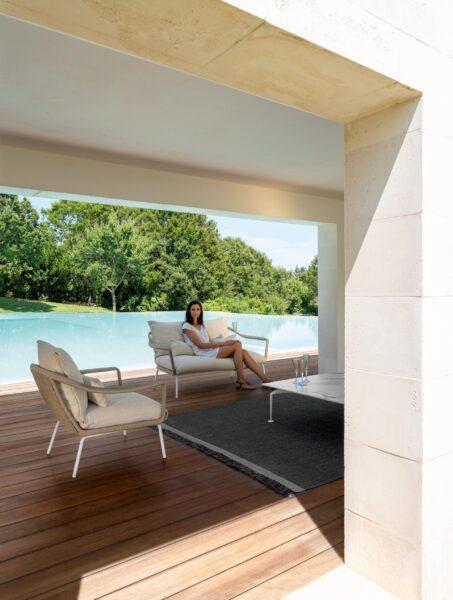 Cruise//alu Living Armchair 1