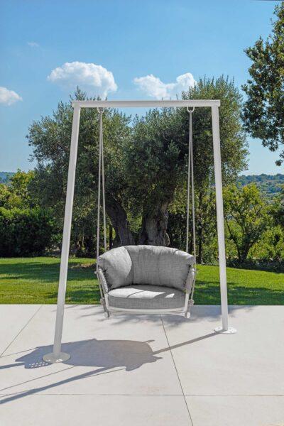 Moon//Alu Swing Armchair 0