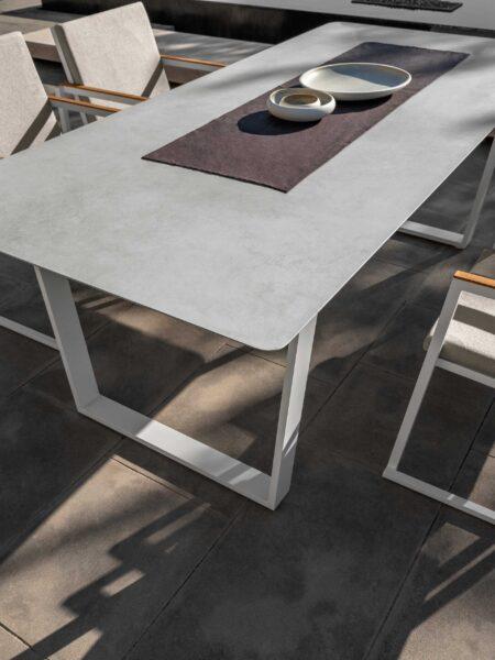 Alabama//Alu Dining Table 220×100 0