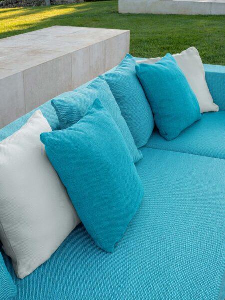 Cleo//Teak Modular Sofa 4