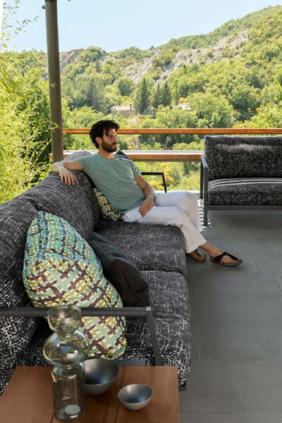 Cottage Sofa luxury 2 seater 1
