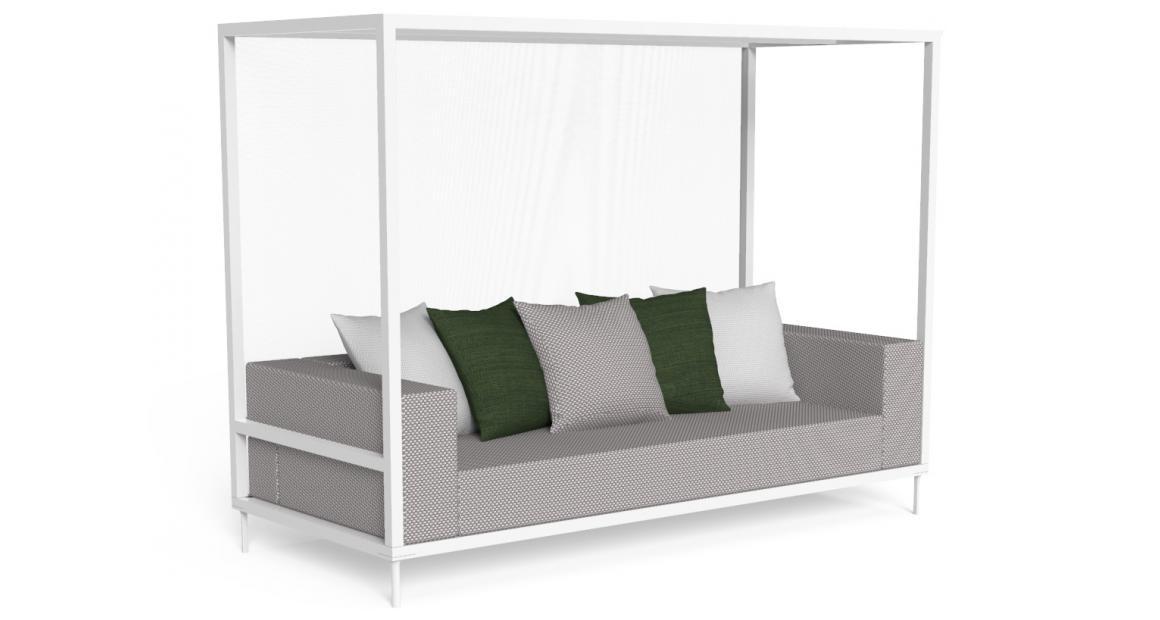 Cleo//Alu Canopy Sofa