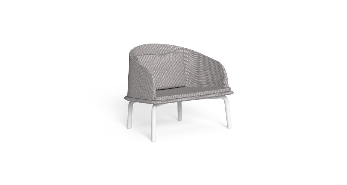 Cleo//Alu Lounge Armchair