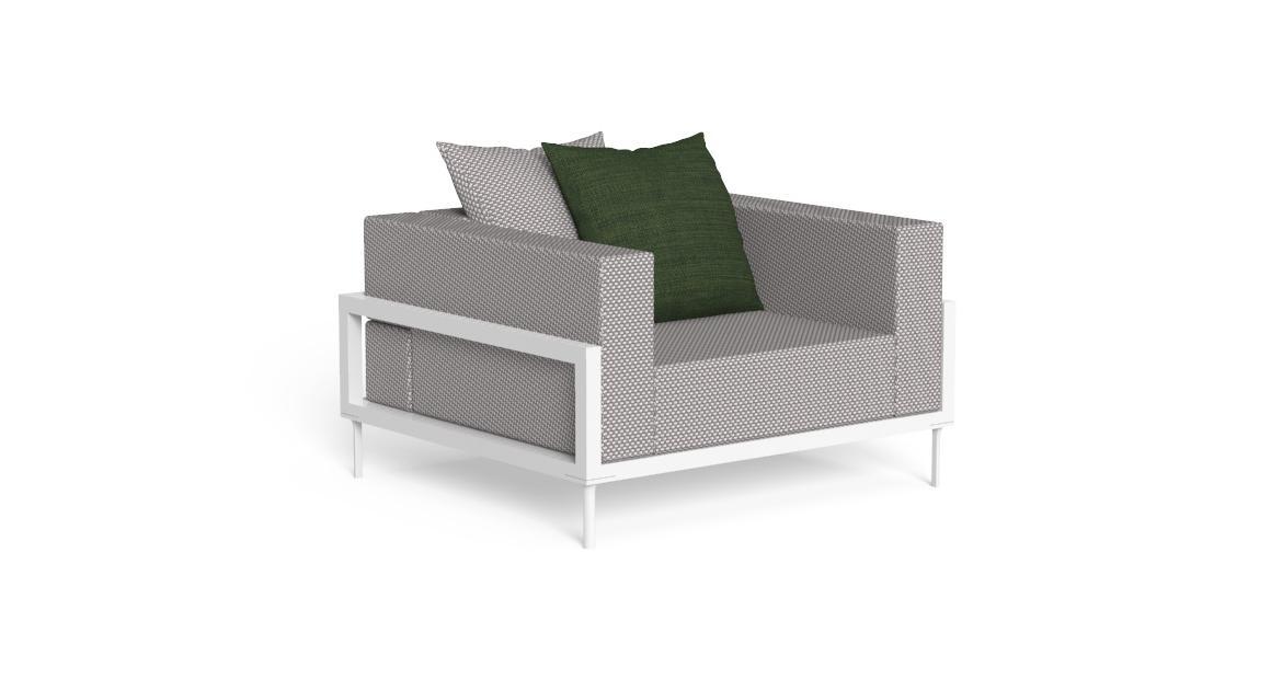 Cleo//Alu Living Armchair
