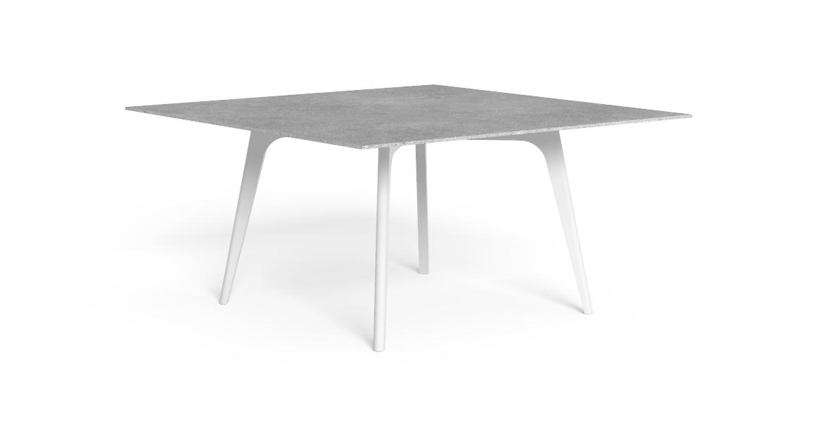 Cleo//Alu 150×150 Dining Table
