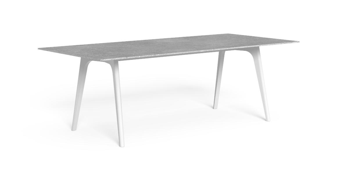 Cleo//Alu 220×100 Dining Table