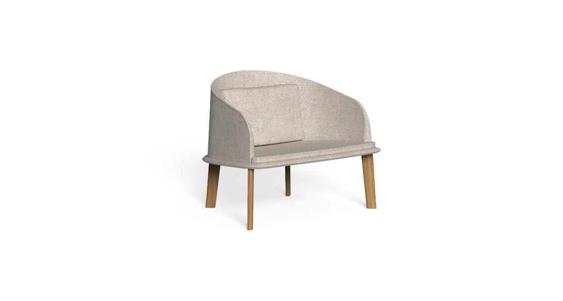 Cleo//Teak Lounge Armchair