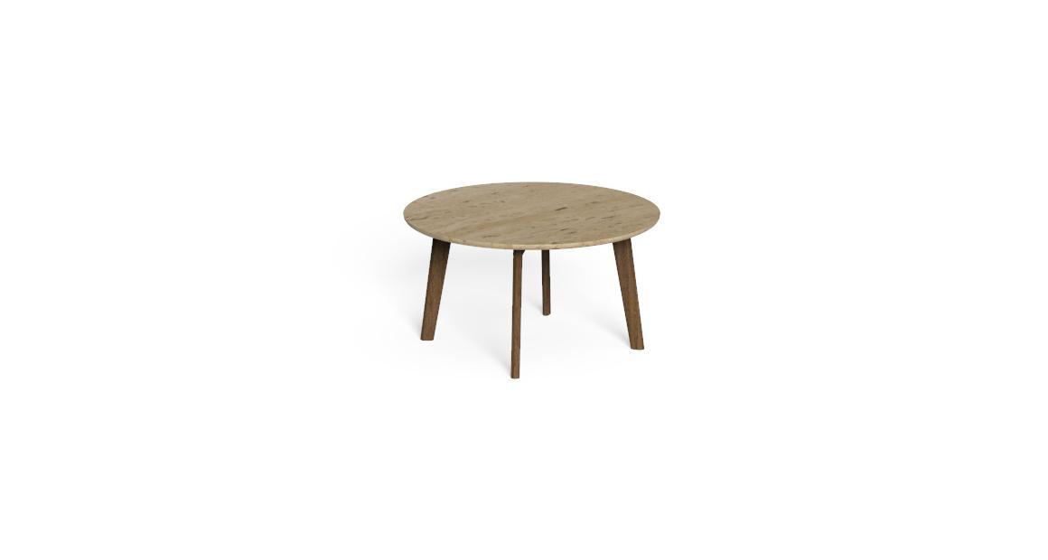 Cleo//Teak D75 Coffee Table