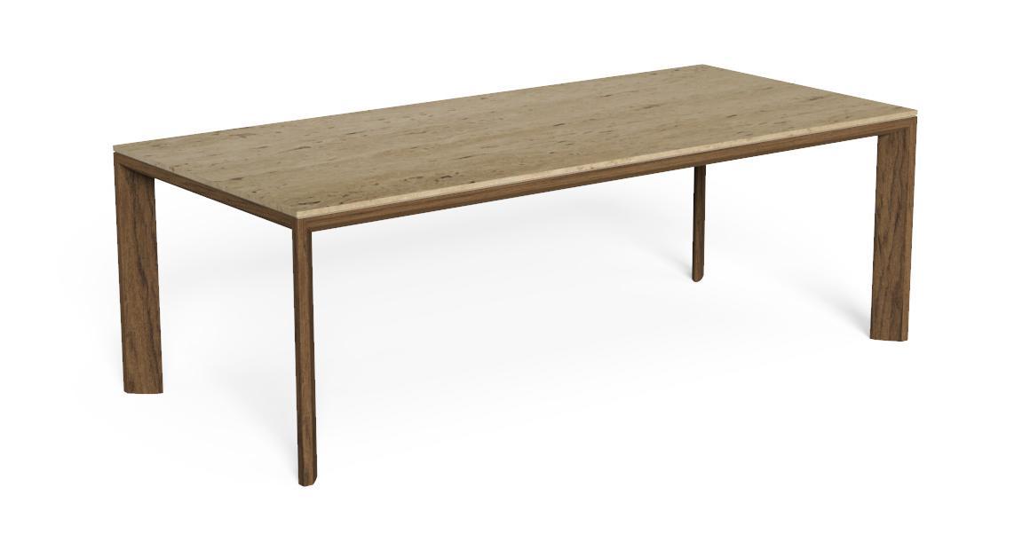 Cleo//Teak Dining Table 220×100