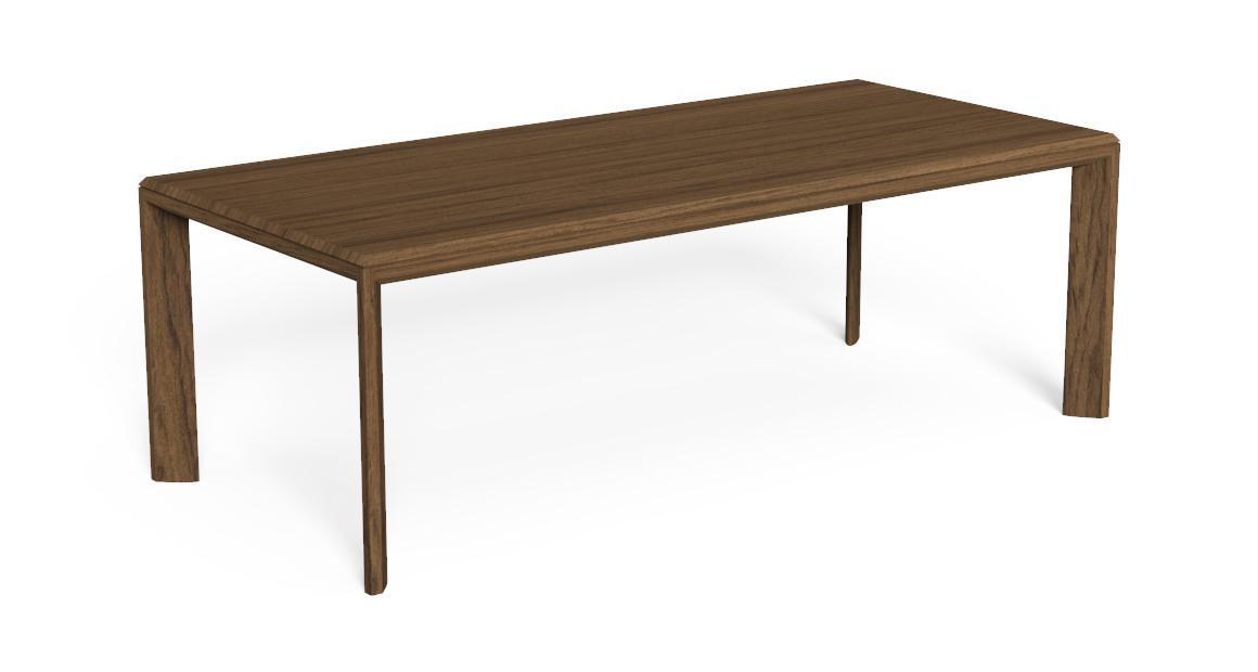 Cleo//Teak Iroko 220×100 Dining Table