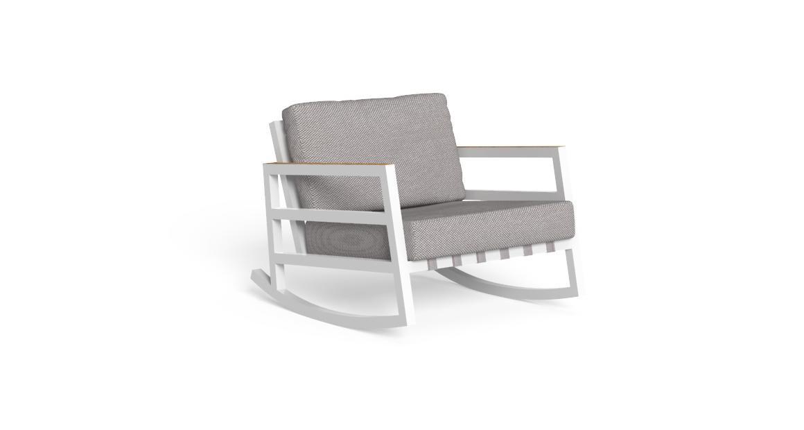 Alabama//Alu Rocking Chair