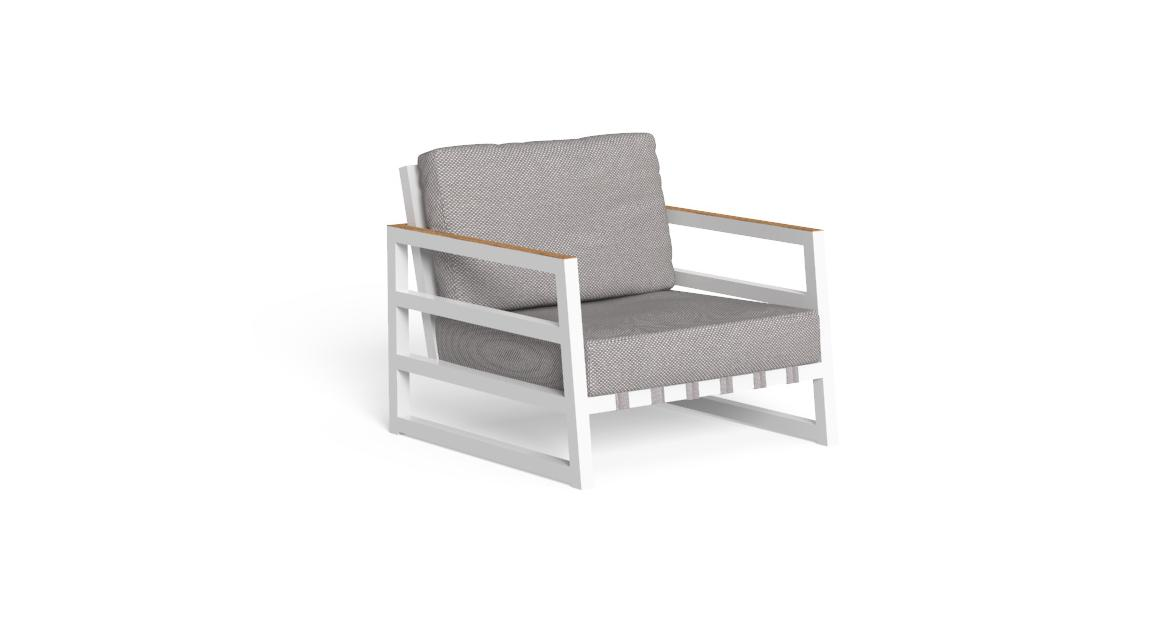 Alabama//Alu Living Armchair