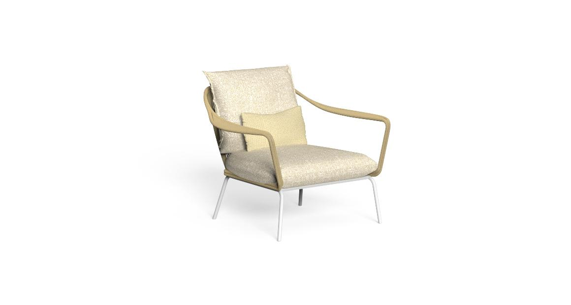 Cruise//alu Living Armchair