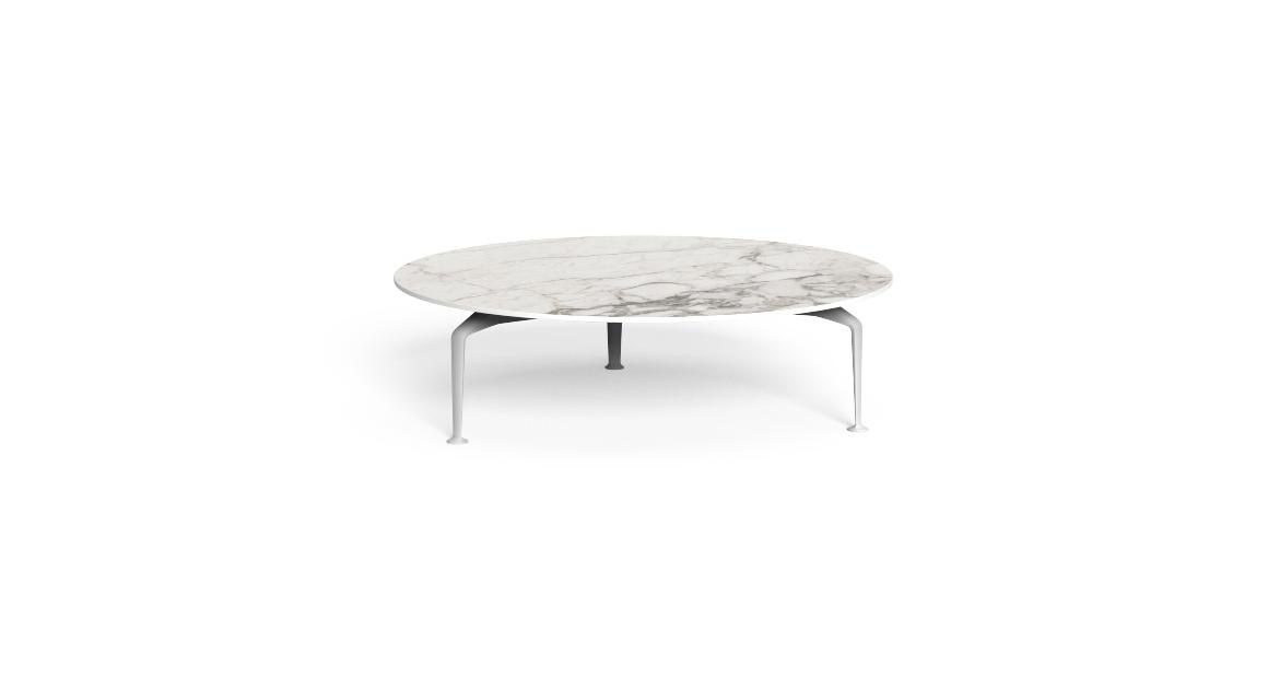 Cruise//alu D120 round Coffee table