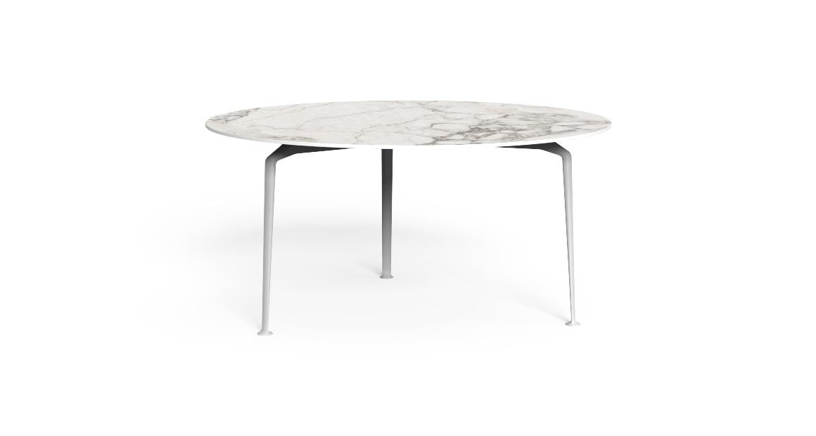 Cruise//alu D150 round Dining table