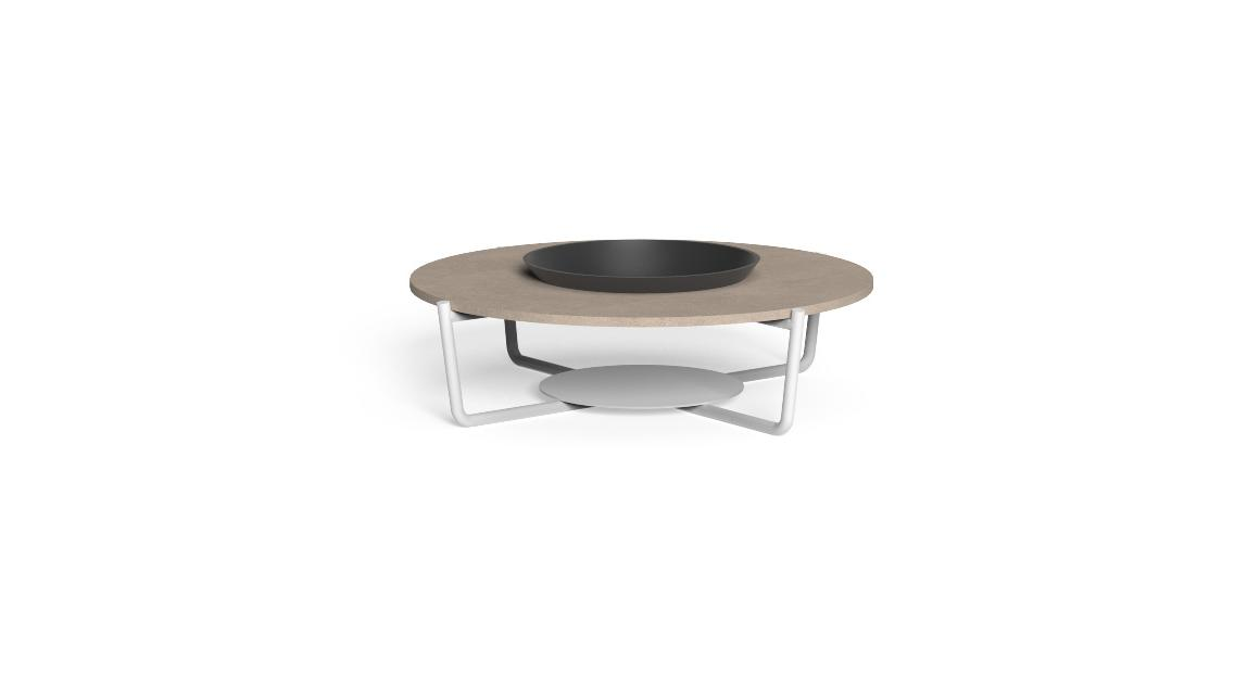 Domino Round Coffee Table