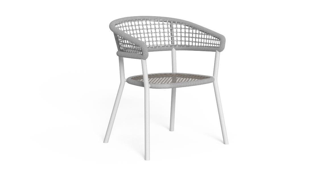 Moon//Alu Dining Armchair