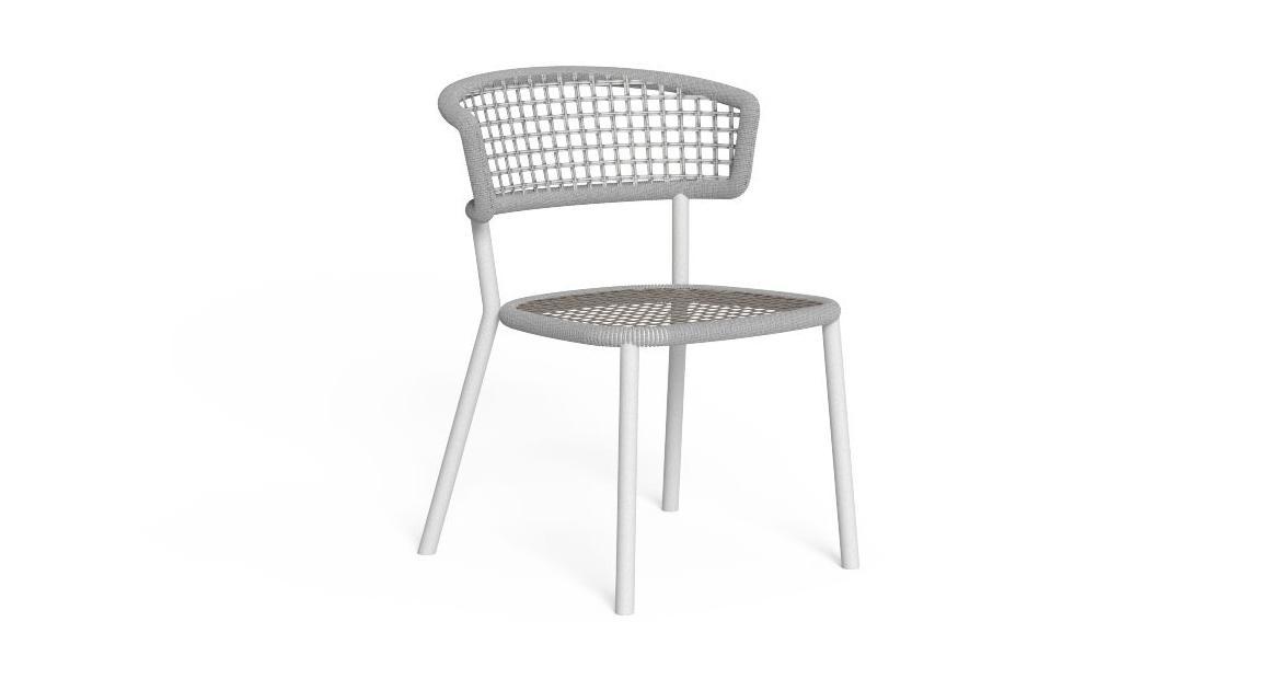 Moon//Alu Dining Chair