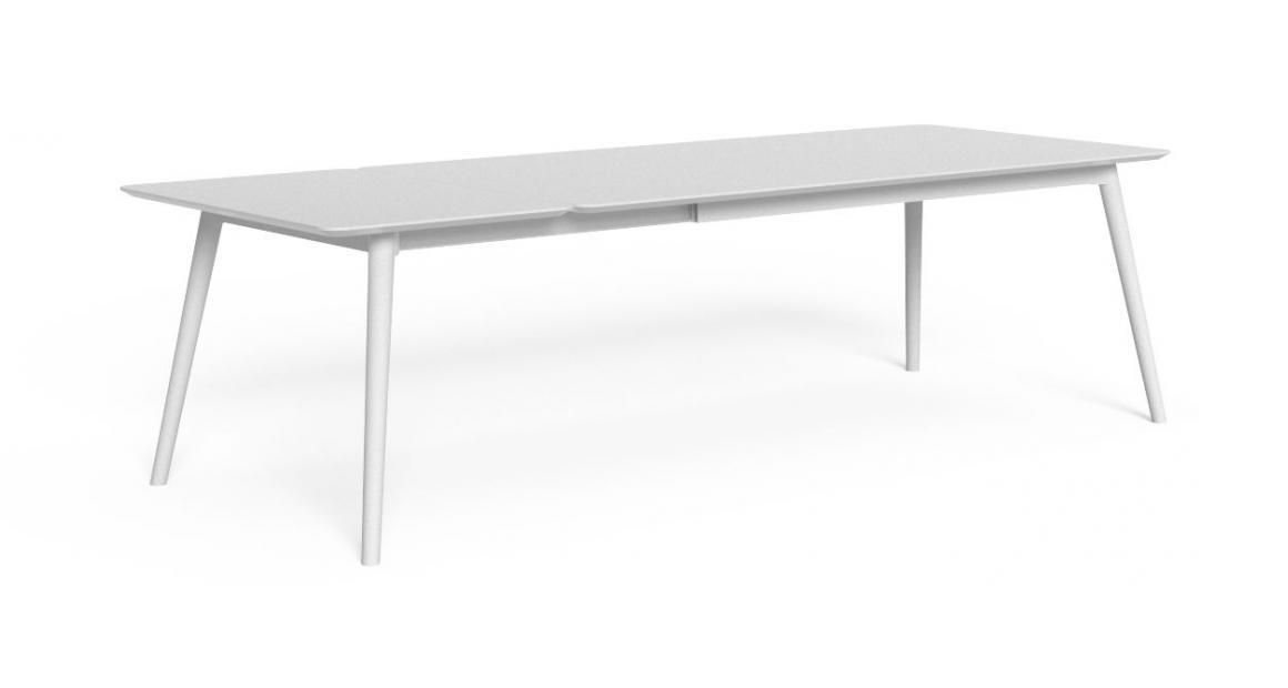 Moon//Alu 200/260×100 Extendible dining Table