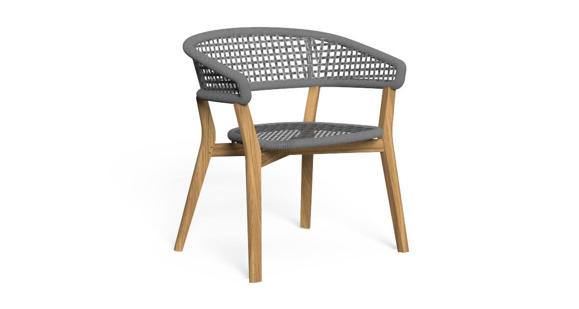 Moon//Teak Dining Chair