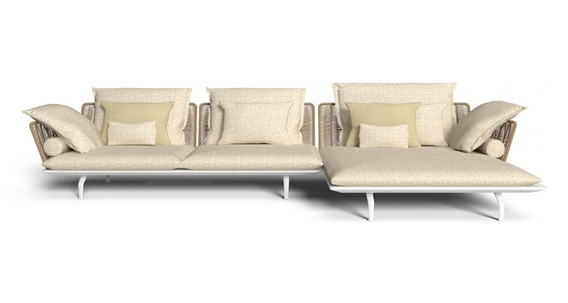 Cruise//alu modular Sofa