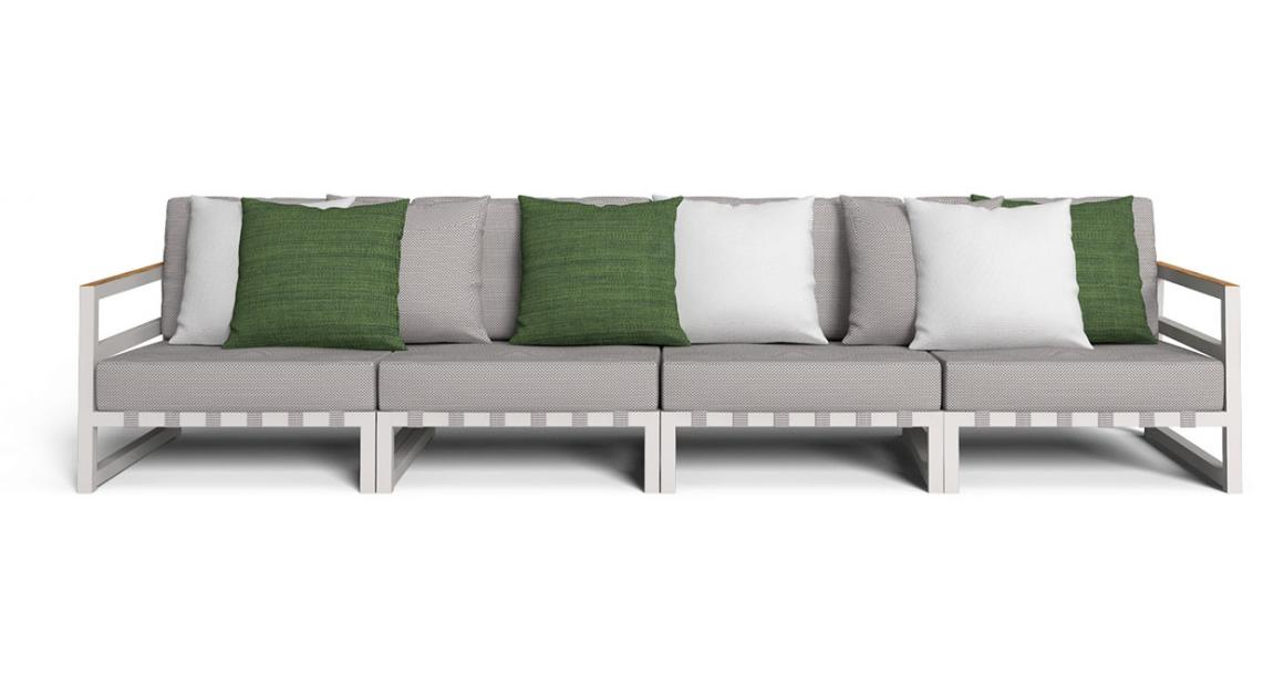 Alabama//Alu Modular sofa