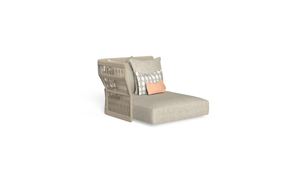 sofa lounge xl dx backrest rope
